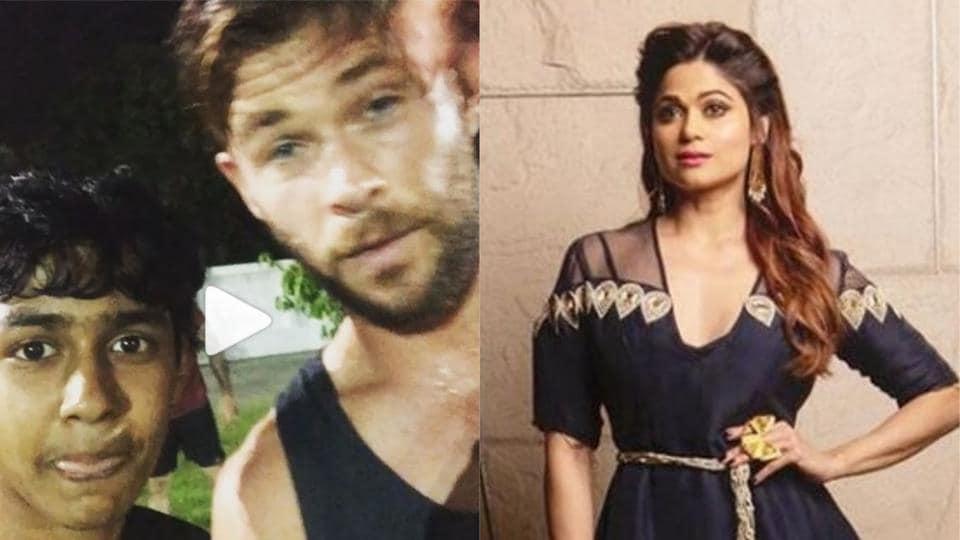 Chris Hemsworth wishes Shamita Shetty on her birthday.