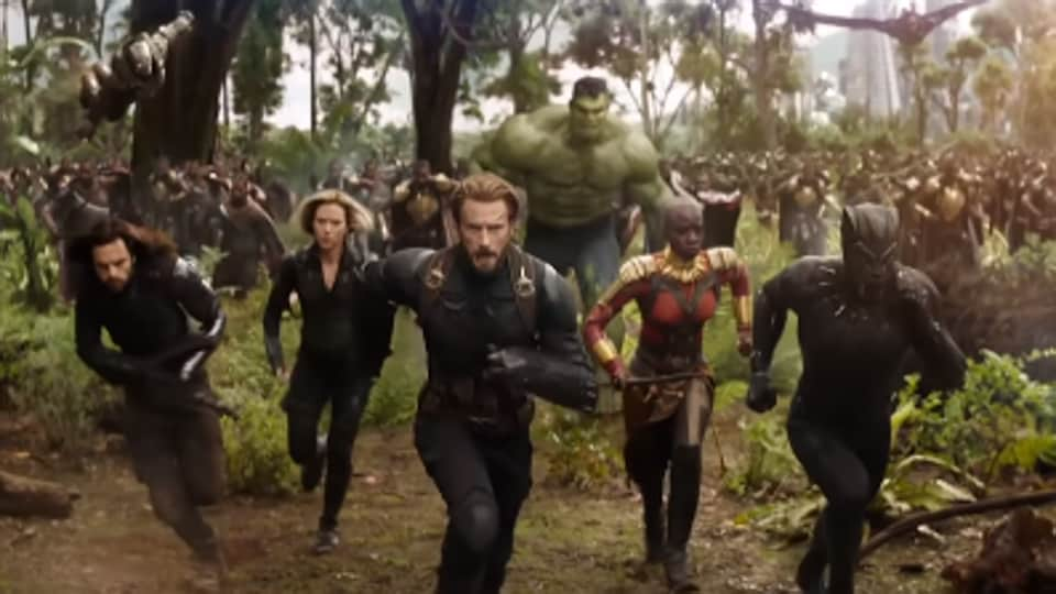 A comparison of what the Avengers: Infinity War trailer showed us, and what we saw in the final film.