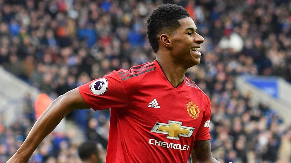 new product b8a28 a543c Marcus Rashford strike lifts Solskjaer's surging Manchester ...