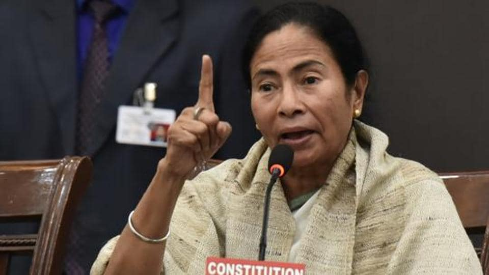 Mamata Banerjee alleged that  the BJP is misusing power to take control of the police and destroy all institutions.