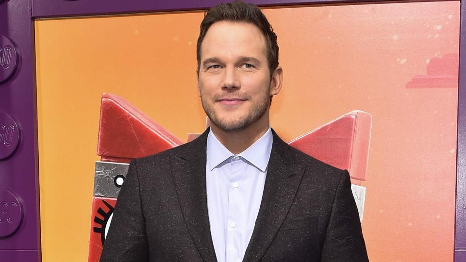 Chris Pratt arrives for the premiere of The Lego Movie 2: The Second Part.