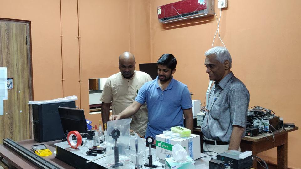 IIT Madras,Lasers from Carrots,Sir CV Raman