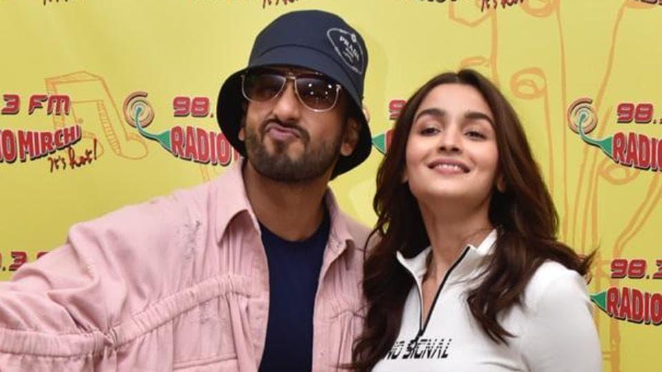 The beauty and the maverick: Alia Bhatt and Ranveer Singh atGullyBoy promotions in Mumbai.