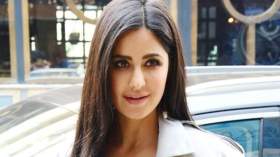 Katrina Kaif wore high-waisted pants with confidence — then added in a cropped jacket to take them to the next level. (Instagram)