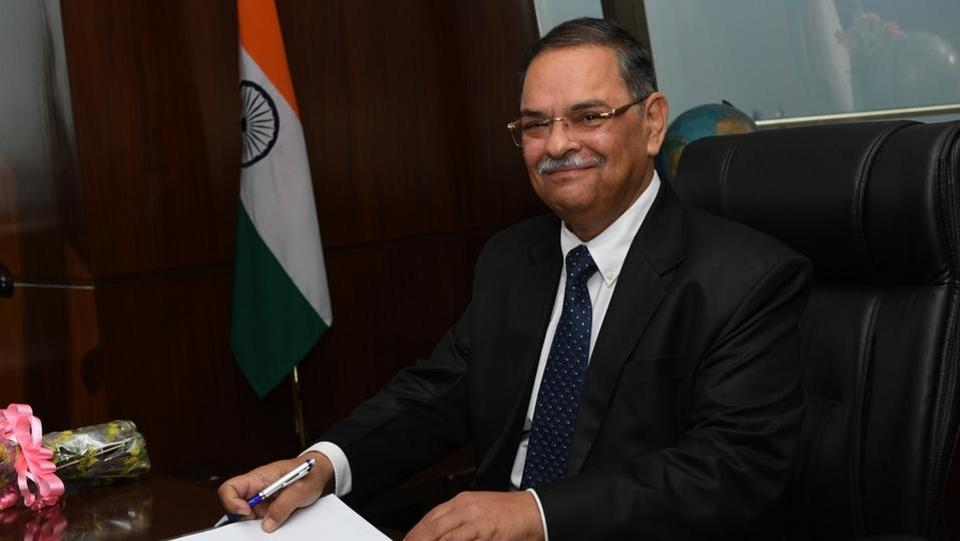 Rishi Kumar Shukla, an IPS officer of 1983 Batch (Madhya Pradesh Cadre) today took over as Director, Central Bureau of Investigation in New Delhi. (HT Photo)