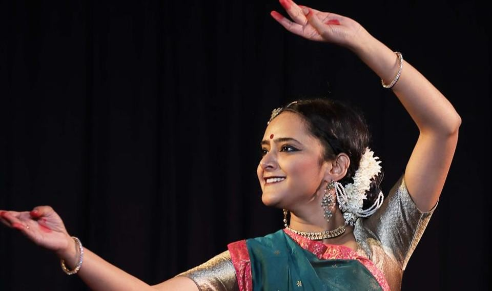 Danseuse Mrinalini is performing as part of SOPAN festival at Central Park,Connaught Place.