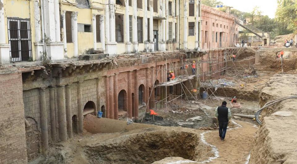 The museum would come up after the ongoing beautification and strengthening work is over at the Chattar Manzil.