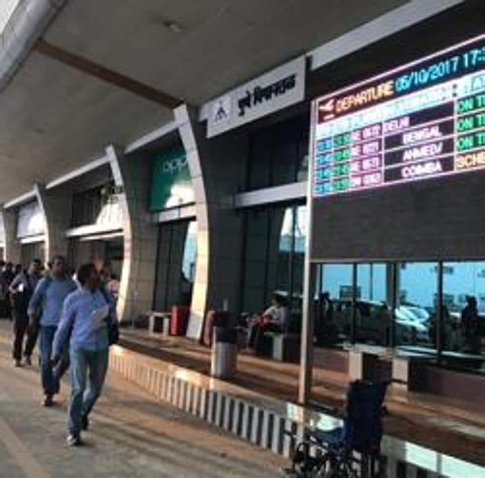 The lounge at Pune airport.  The Maharashtra government has given nod to an international airport at Purandar near Pune.