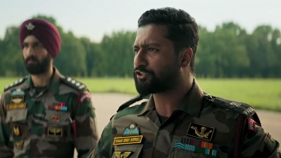 Vicky Kaushal plays the lead in Uri: The Surgical Strike.