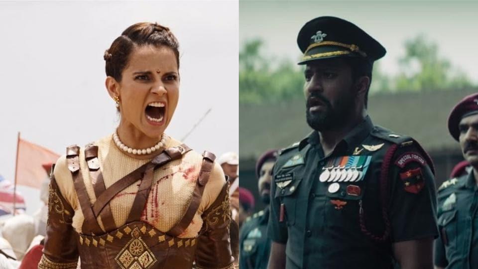Manikarnika and Uri dominated the box office in January.