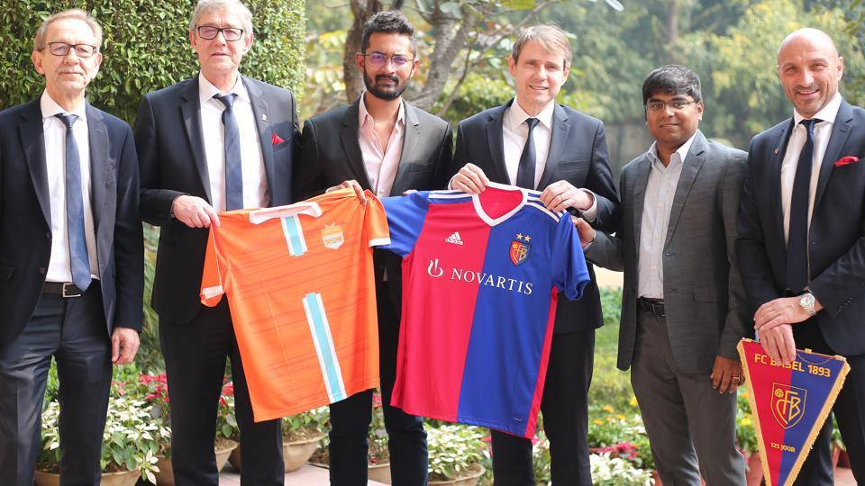 Chennai City FC announced a tie-up with FC Basel.