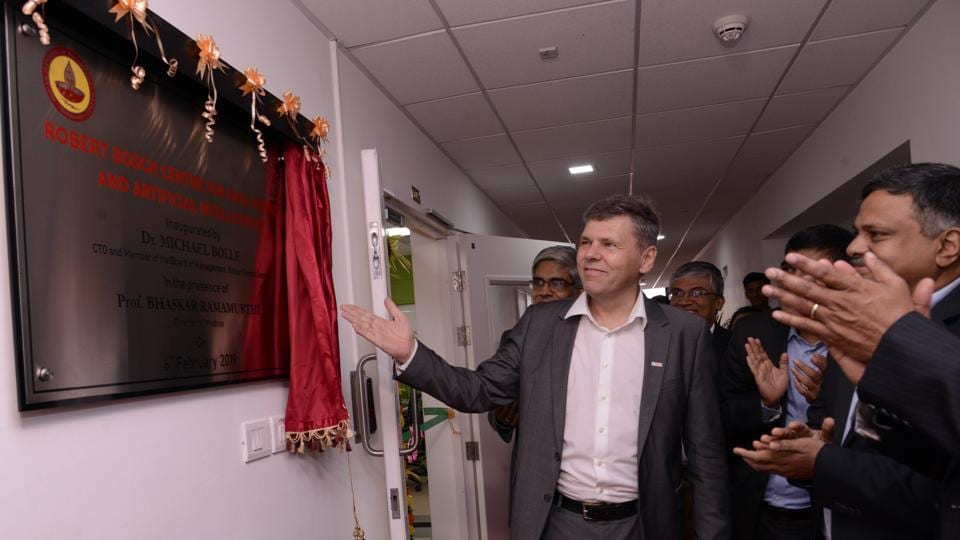 Bosch inaugurated Robert Bosch Center at IIT Madras