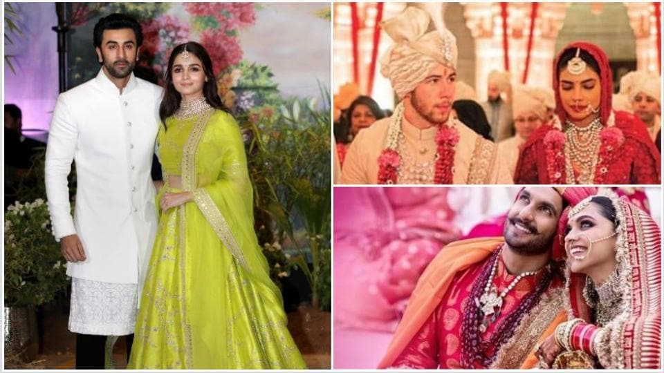 Alia Bhatt thinks she and Ranbir Kapoor should give fans a breather after the stunning weddings of Ranveer Singh-Deepika Padukone and Priyanka Chopra-Nick Jonas.