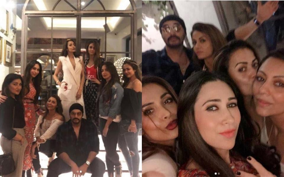 Malaika Arora parties with rumoured boyfriend Arjun Kapoor