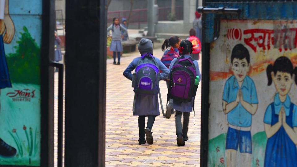 Officials of many schools under Delhi's three municipal corporations complain of a lack of security at the gates which put students at risk.