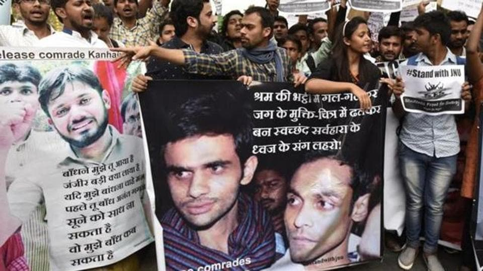 A Delhi court will hear the charge sheet against 10 people, including the three former Jawaharlal Nehru University student union leaders, for allegedly shouting anti-national slogans in 2016.