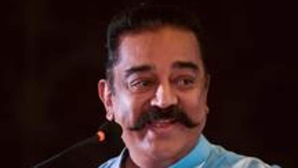 Makkal Needhi Maiam (MNM) president Kamal Haasan at a function in Chennai in October last year.