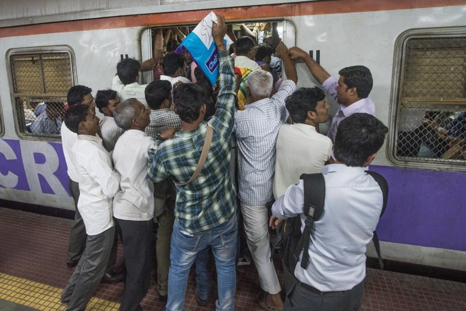 The central railway saw 482 deaths owing to falling off the trains, while the WR saw 229 such deaths.