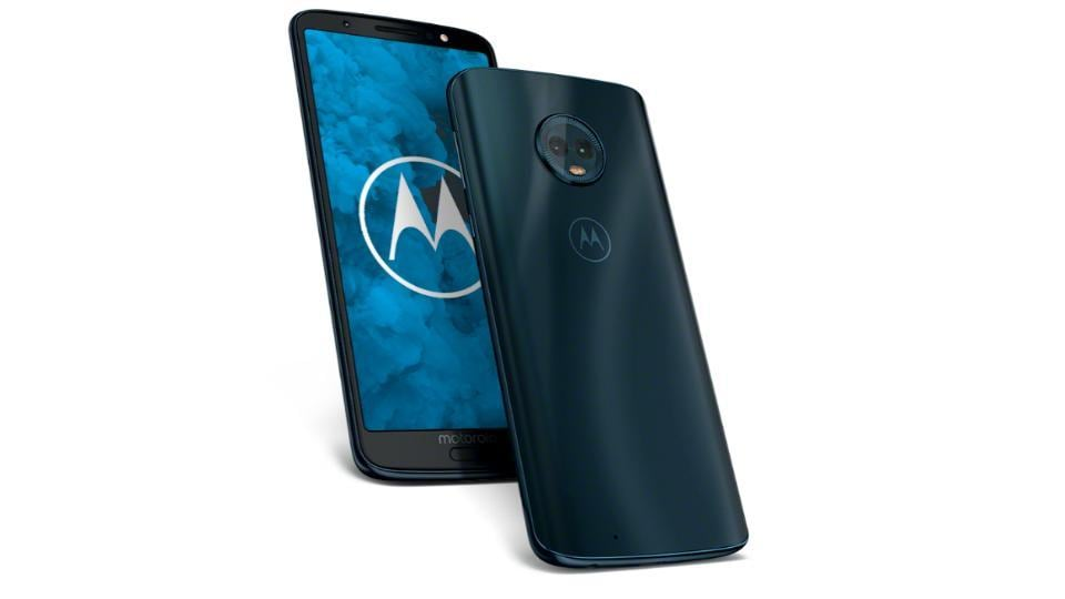 Motorola's new G7 series is expected to feature a refreshed design with a dewdrop-styled notch on top.