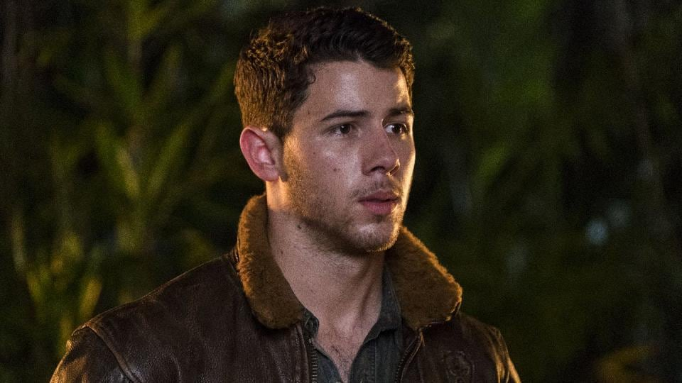 Nick Jonas in Jumanji: Welcome to the Jungle.