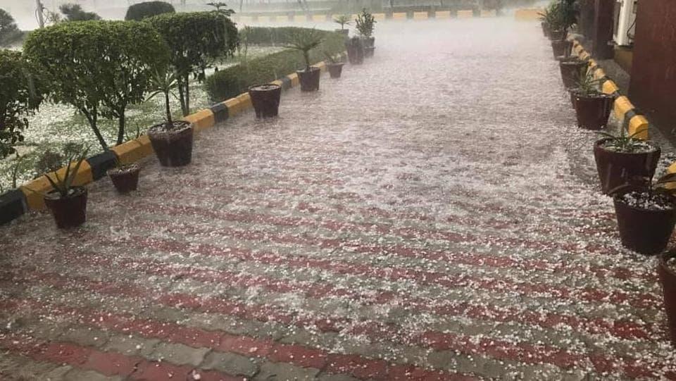 Delhi,rain,hailstorm