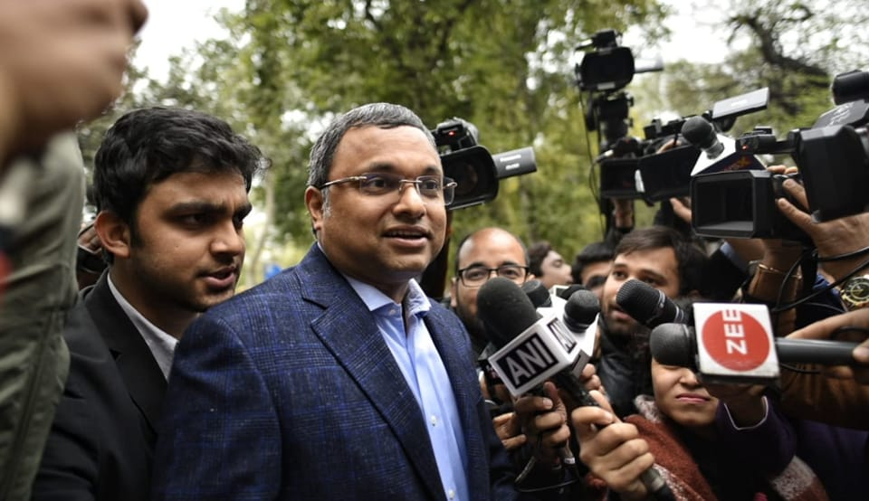 Karti Chidambaram appeared for questioning before the Enforcement Directorate on Thursday in INX media case.