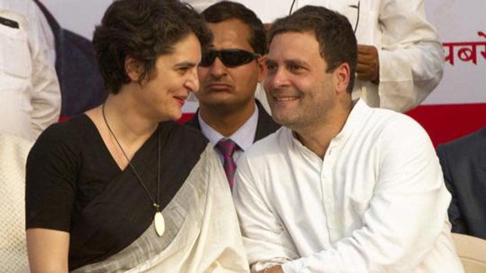 Rahul Gandhi will accompany Priyanka Gandhi Vadra when she arrives on her first visit to Uttar Pradesh Congress Committee (UPCC)