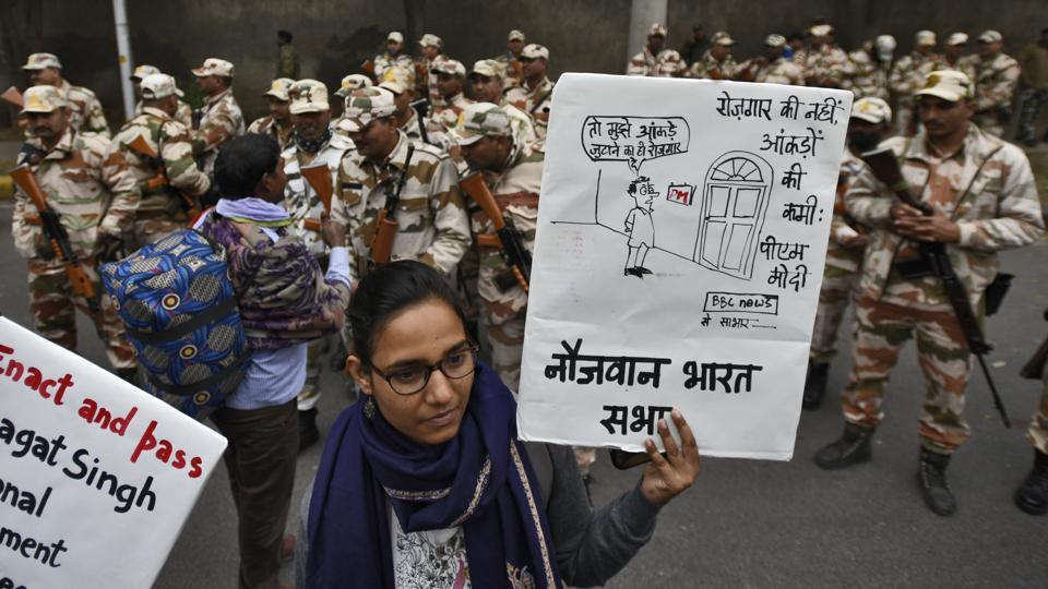 According to media reports, the Delhi Police had earlier refused to give permission for the march route. The organisers stated that it was unfortunate that they were being denied permission but eventually it was confirmed that the permission was granted. (Burhaan Kinu / HT Photo)