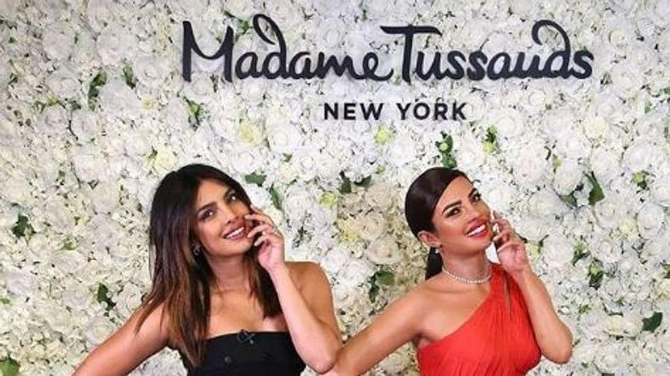 Priyanka Chopra Jonas,Nick Jonas,Madame Tussauds