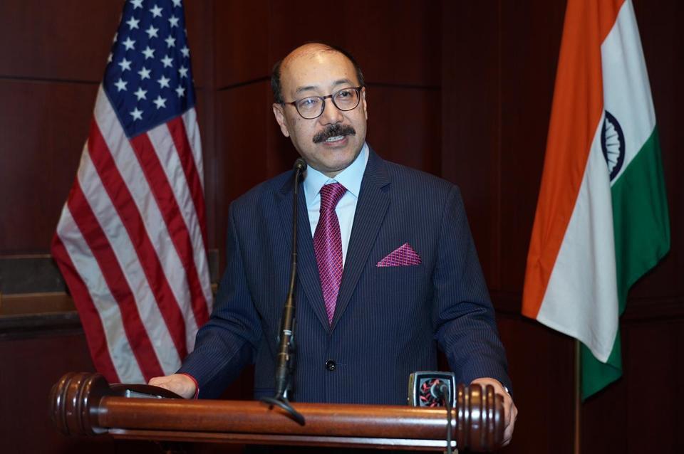 Harsh Vardhan Shringla,USA,US lawmakers