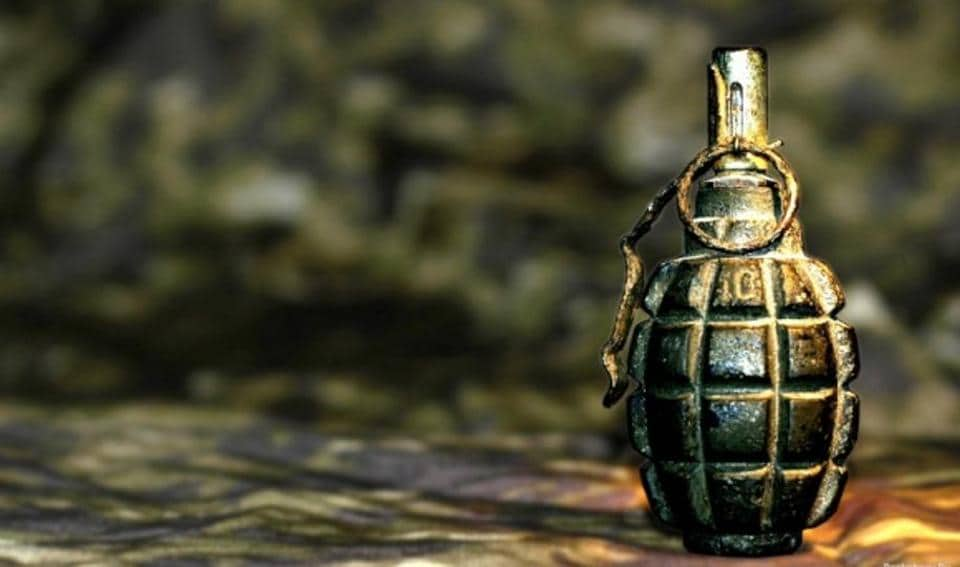 The 'unexploded' grenade, used during army exercise, was picked up by children and it exploded when they removed its safety pin.