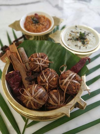 Maa ke haath ka khana is back with a bang, and with it come regional micro-cuisines. Seen here are Kola Urundai or Mutton Balls from Tamil Nadu, as served up at Dakshin Coastal, at the ITC Maratha.