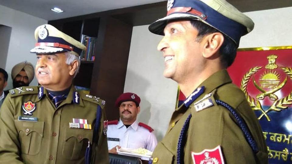 new pujab DGP dinkar gupta,dinkar gupta appointed punjab dgp,punjab police