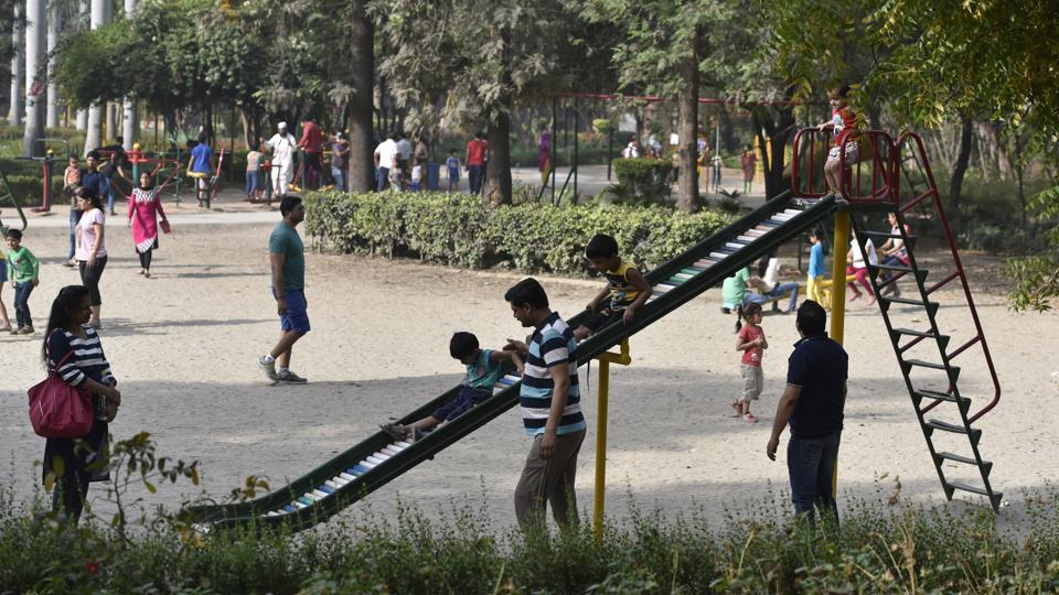 The petition filed by the residents had contended that the parking, if constructed, would take over land from a children's park.