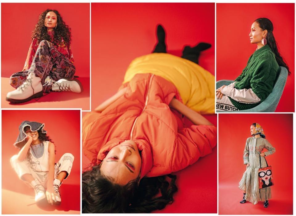 Model: Dayawati Devi (Ninjas Model Management); Make-up and hair: Leeview Biswas; Styling: Jahnvi Bansal