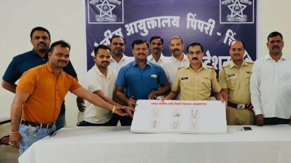 Wakad police arrested three men for their involvement in six chain snatching incidents.
