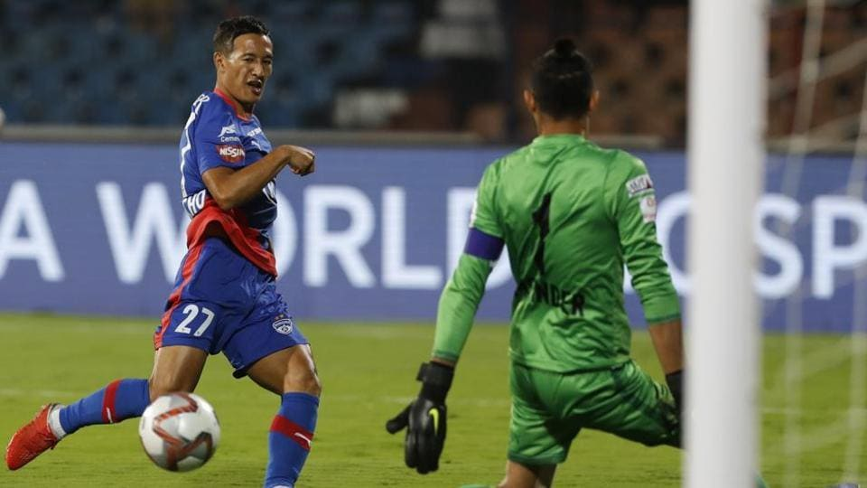File image of Chencho Gyeltshen in action for Bengaluru FC