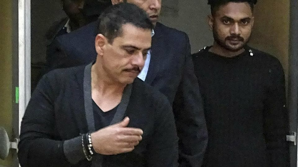 The Enforcement Directorate (ED) on Saturday questioned Robert Vadra, Congress president Rahul Gandhi's brother-in-law, for the third time in the last four days.