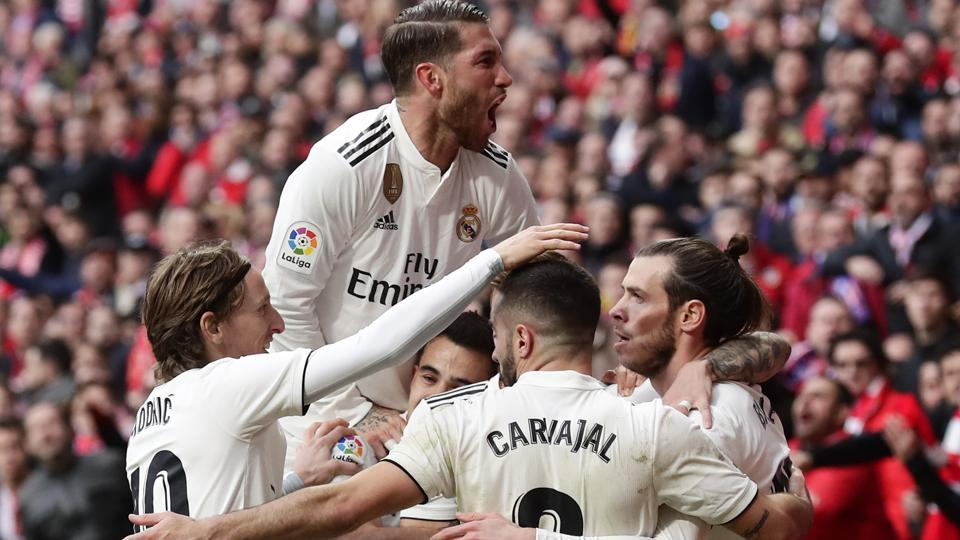 Real Madrid back in title fight after Madrid Derby victory | football