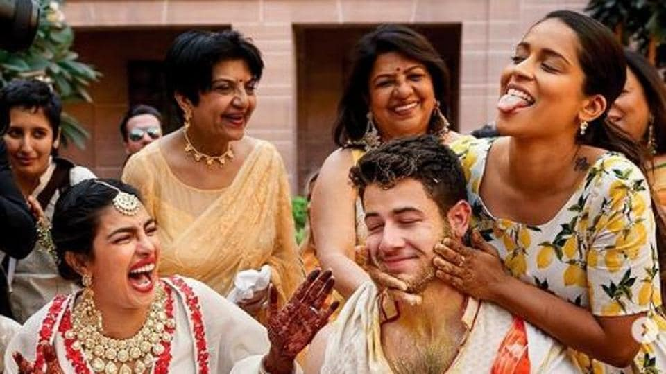 Priyanka Chopra,Nick Jonas,Lilly Singh