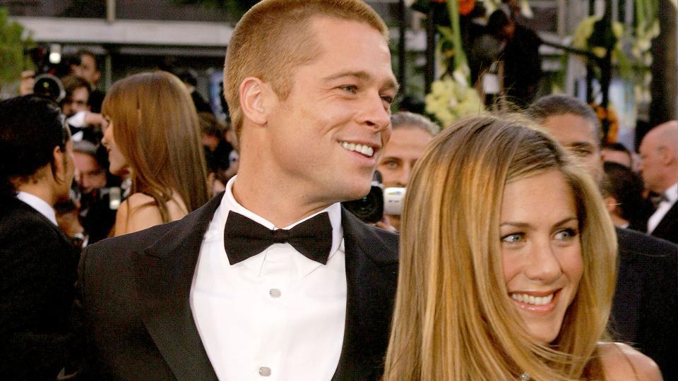 Brad Pitt and Jennifer Aniston were married from 2000-2005.