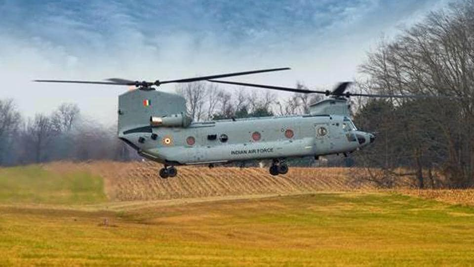 The first batch of four Chinook helicopters for the Indian Air Force arrived at the Mundra airport in Gujarat on Sunday. India has procured 15 of these helicopters from the United States.