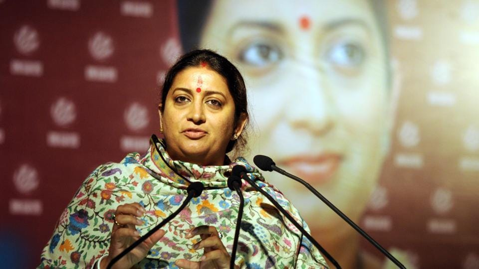 Smriti Irani slammed Rahul gandhi for his comment on IAF pilots.