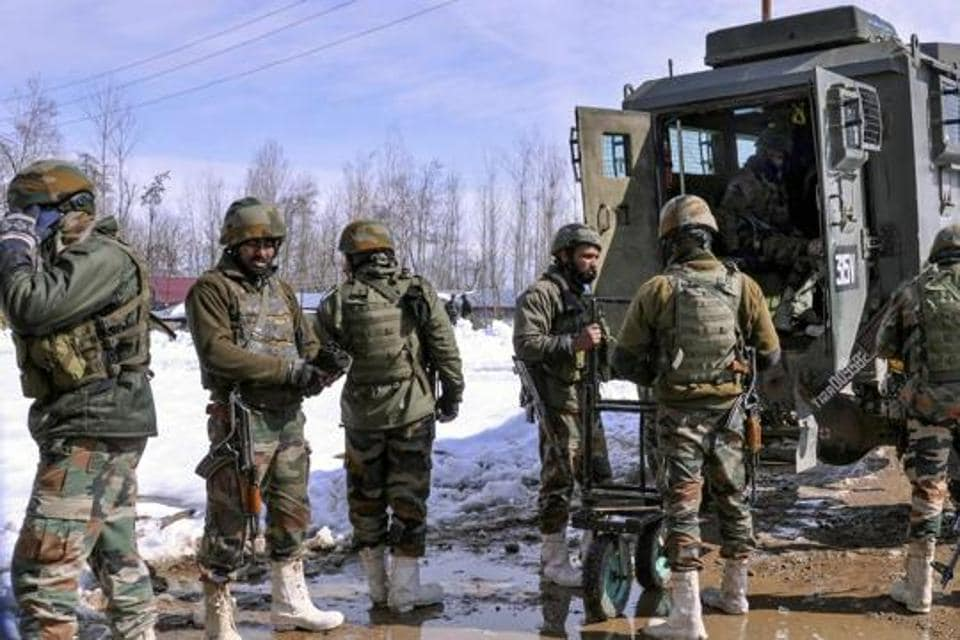 The gun fight was triggered after a cordon and search operation was launched by a joint party of forces including police and army at Bugam in Chadoora area of Budgam district.