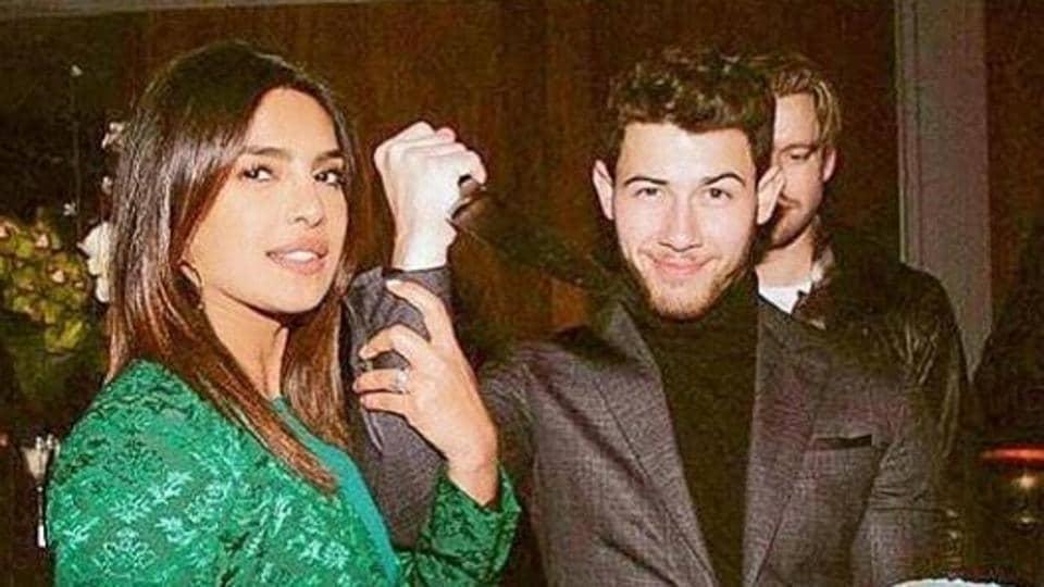 Priyanka Chopra shared pictures with her husband Nick Jonas on Monday morning.