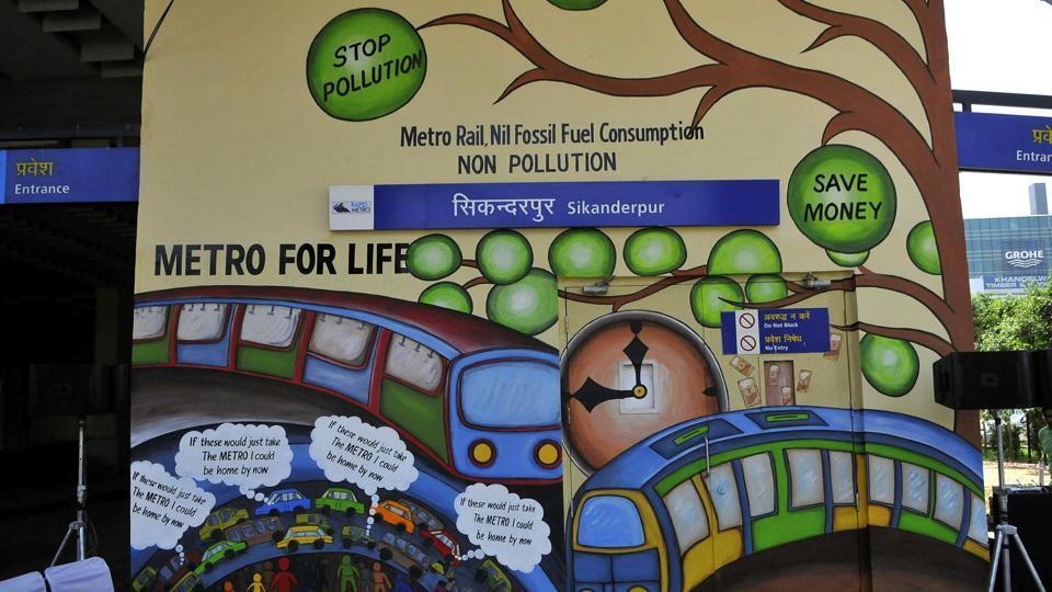 intra city travel in gurugram,DMRC,rapid metro