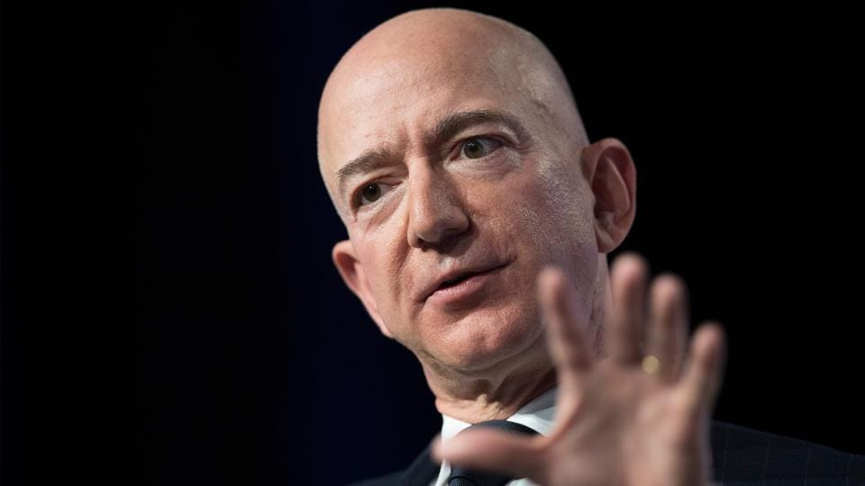 Trump says he wasn't aware of tabloid's Bezos investigation