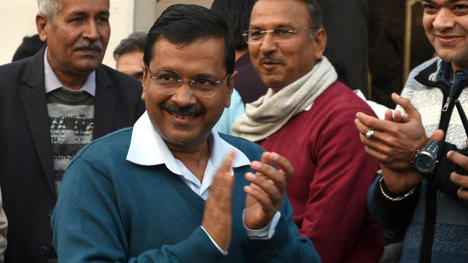 A video chief minister Arvind Kejriwal was released by Delhi's AAP government on Sunday, Feb 10, 2019, highlighting its achievements ahead of the party completing four years in power.