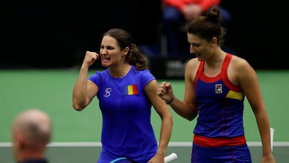 Romania,Czech Republic,Fed Cup