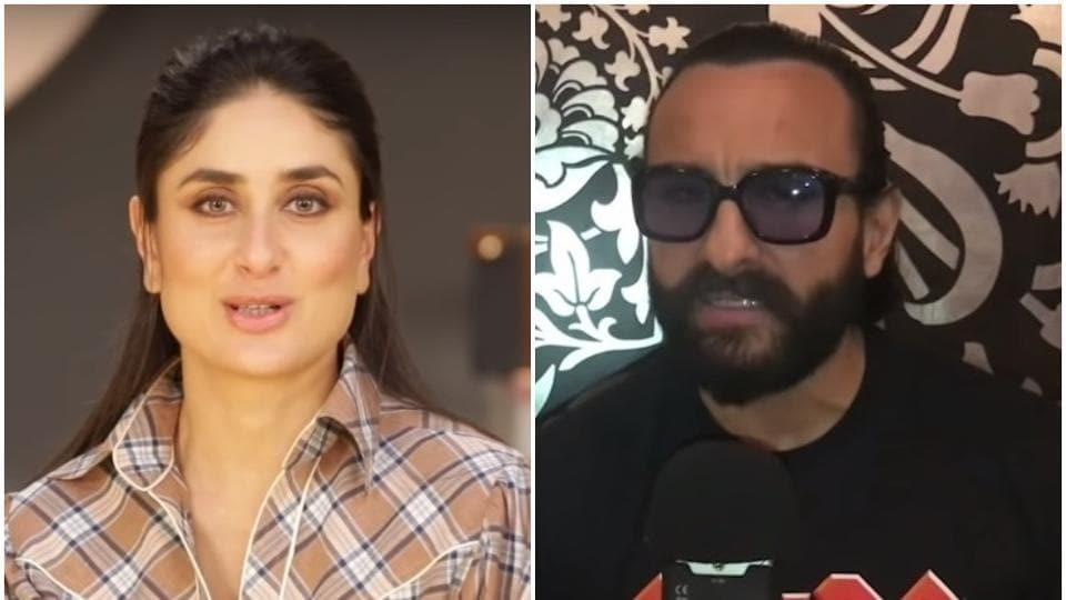 Kareena Kapoor answered like a pro when husband Saif AliKhan called in with a query on marriage.